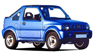 Suzuki Jimny - Car Hire Corfu Airport