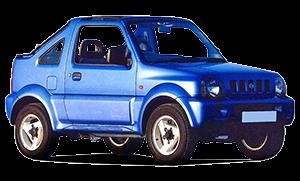 Suzuki Jimny - Car Hire Corfu Airport